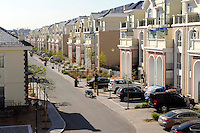 Villas in Kangbashi district of the Chinese city of Ordos, Inner Mongolia. 12-May-2011