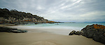 Spiky Beach near Swansea on the east coast of Tasmania in Australia