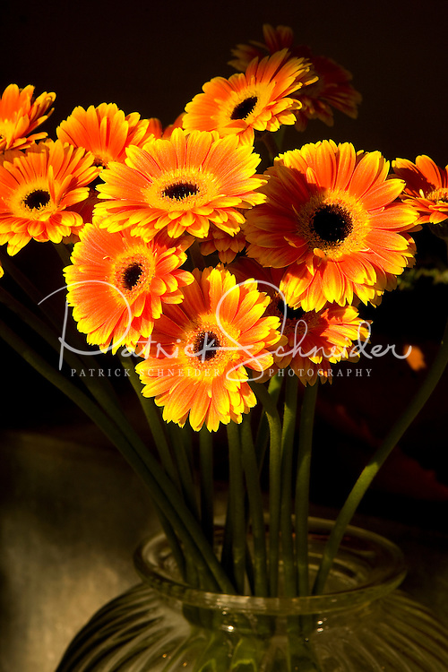 Flowers on sale at Pike Place Market in Seattle Washington.