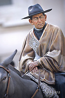 """portrait of Jose Gabriel Brochero il Pope Francis canonises Argentine """"gaucho priest"""" Jose Gabriel Brochero.Pope Francis during of a weekly general audience at St Peter's square in Vatican. on October 19, 2016"""