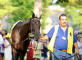 Better Talk Now, age 10, may have made his final career start in the Sword Dancer. The gallant gelding finished second to Telling.