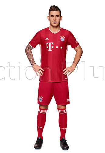 26th October 2020, Munich, Germany; Bayern Munich official seasons portraits for season 2020-21;  Lucas Hernandez