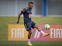 10th November 2020; Granja Comary, Teresopolis, Rio de Janeiro, Brazil; Qatar 2022 qualifiers; Renan Lodi of Brazil during training session in Granja Comary