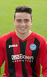 St Johnstone FC 2013-14<br /> Anthony Higgins<br /> Picture by Graeme Hart.<br /> Copyright Perthshire Picture Agency<br /> Tel: 01738 623350  Mobile: 07990 594431