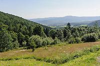 Riesengebirge bei Karpacz, Woiwodschaft Niederschlesien (Województwo dolnośląskie), Polen, Europa<br /> Giant Mountains near Karpacz, Poland, Europe