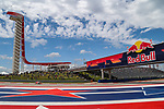 MotoGP riders in action before the Red Bull Grand Prix of the Americas race at the Circuit of the Americas racetrack in Austin,Texas.