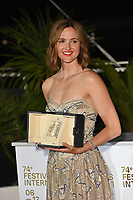 CANNES, FRANCE. July 17, 2021: Renate Reinsve at the photocall for Cannes Awards 2021 at the 74th Festival de Cannes.<br /> Picture: Paul Smith / Featureflash