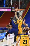 League ACB-ENDESA 2020/2021 - Game: 13.<br /> FC Barcelona Lassa vs Herbalife Gran Canaria: 91-63.<br /> Nikola Mirotic vs Matt Costello.