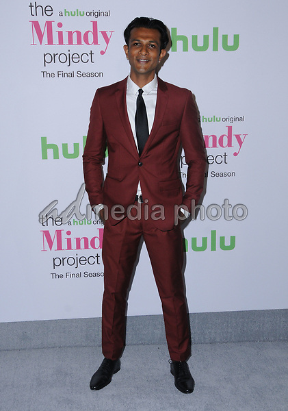 """12 September  2017 - West Hollywood, California - Utkarsh Ambudkar. """"The Mindy Project"""" Final Season Premiere Party held at Microsoft Theatre L.A. Live in West Hollywood. Photo Credit: Birdie Thompson/AdMedia"""