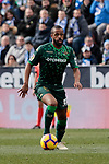 Real Betis Balompie's Sidnei Rechel da Silva during La Liga match between CD Leganes and Real Betis Balompie at Butarque Stadium in Madrid, Spain. February 10, 2019. (ALTERPHOTOS/A. Perez Meca)