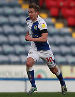 16th April 2021; Ewood Park, Blackburn, Lancashire, England; English Football League Championship Football, Blackburn Rovers versus Derby County; Lewis Holtby of Blackburn Rovers races after the ball