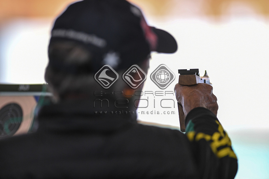 Tokyo 2020 - shooting / Chris Pitt<br /> 2019 World Shooting Para Sport Champions <br /> Sydney International Shooting Centre<br /> Saturday 12 Oct 2019 Paralympics Australia<br /> © STL / Jeff Crow / Paralympics Australia