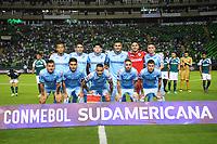 PALMIRA - COLOMBIA-18-07-2018: Deportivo Cali (COL) y Bolívar (BOL) en partido de la segunda fase, llave 8, por la Copa CONMEBOL Sudamericana 2018 jugado en el estadio Palmaseca de Cali. / Deportivo Cali (COL) and Bolivar (BOL) in match of the second phase, key 8, for the CONMEBOL Sudamericana Cup 2018 played at Palmaseca stadium in Cali.  Photo: VizzorImage/ Nelson Rios / Cont