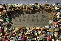 Helsinki.Bridge of love.Il ponte dell'amore