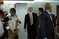 Former United States Deputy Attorney General Rod Rosenstein arrives to testify before the United States Senate Committee on the Judiciary on Capitol Hill in Washington D.C., U.S., on Wednesday, June 3, 2020.  Credit: Stefani Reynolds / CNP