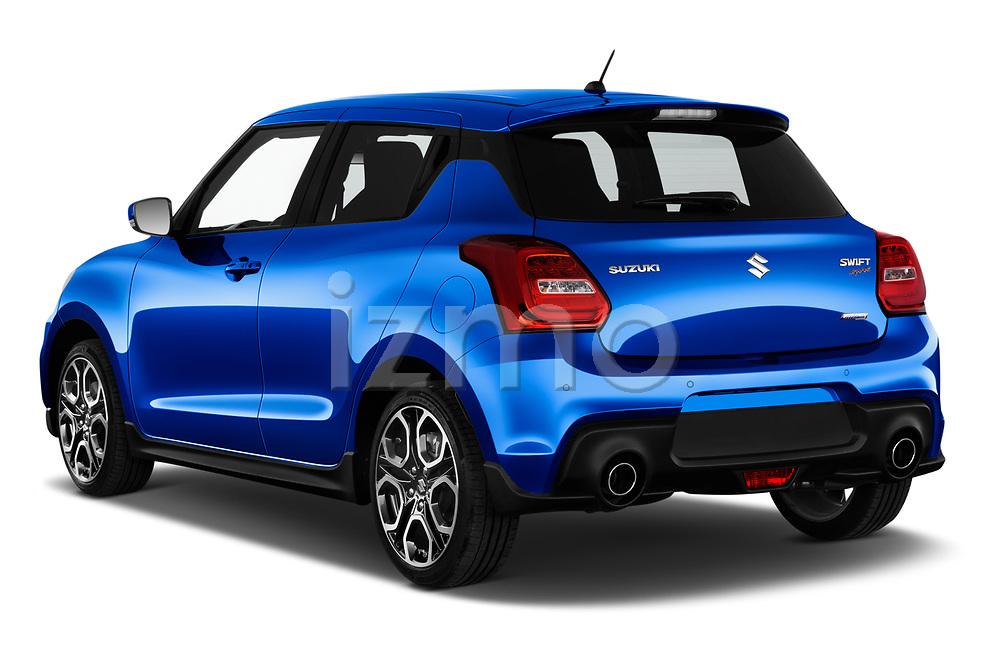 Car pictures of rear three quarter view of 2020 Suzuki Swift-Sport Hybrid 5 Door Hatchback Angular Rear