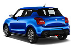 Car pictures of rear three quarter view of 2020 Suzuki Swift-Sport Hybrid 5 Door Hatchback Angular Rear