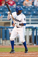 August 19,2010 Anthony Jackons (2) during the MiLB game between the Midland RockHounds and the Tulsa Drillers at OneOk Field in Tulsa Oklahoma.