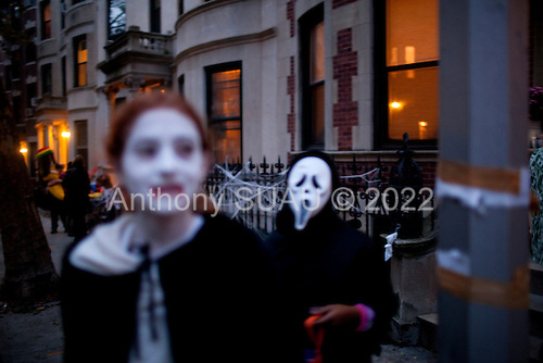 Brooklyn, New York<br /> October 31, 2011<br /> <br /> Halloween, trick-or-treating in Park Slope.
