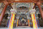 old ,style ,wooden, temple,india colors,horizontal,
