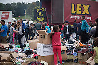 2015/08/28 Heidenau | Solidarität mit Flüchtlingen