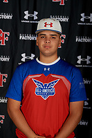 Kevin Sanchez during the Under Armour All-America Tournament powered by Baseball Factory on January 17, 2020 at Sloan Park in Mesa, Arizona.  (Mike Janes/Four Seam Images)