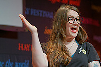 Pictured: Sarah Corbett.<br /> Re: Hay Festival at Hay on Wye, Powys, Wales, UK. Friday 25 May 2018