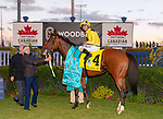 October 13, 2018: #4 Sheikha Reika wins the E.P. Taylor G1 [$500,000] Turf race at Woodbine Race Track in Toronto, Canada on October 13th, 2018. Dan Heary/Eclipsesportswire/CSM
