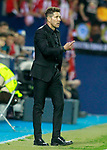 Atletico de Madrid's coach Diego Pablo Cholo Simeone during La Liga match. September 30,2017. (ALTERPHOTOS/Acero)