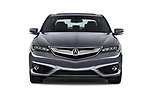 Car photography straight front view of a 2017 Acura ilx Tech Plus and A Spec Package 4 Door Sedan