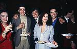 BEATRICE JANNOZZI,  ALESSANDRO GASSMAN, DAVID ZARD,  STEFANIA SANDRELLI E PINO QUARTULLO<br /> FESTA PER DEBUTTO TEATRALE AL PALLADIUM 1993