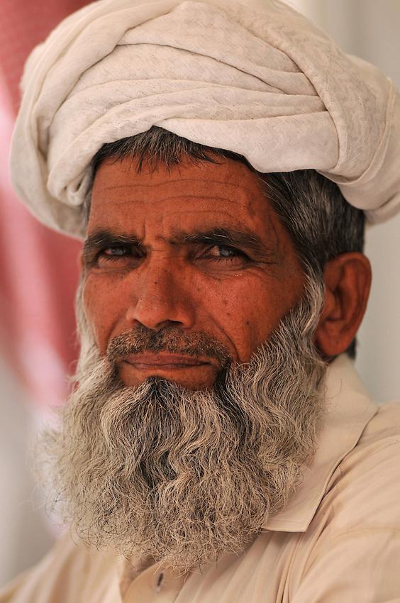 Man in souk, Dubai, U.A.E.