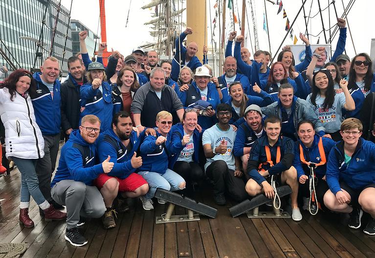 Sail Training Ireland trainees