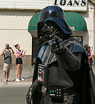 Darth Vader during the Pride Parade in downtown Reno on Saturday, July 28, 2018.
