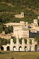 Italien, Umbrien, römisches Theater in Gubbio