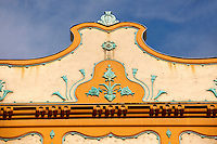 Deutsch Palace - Dozsa Gy. u.2 - Eclectic building (1900-1901) with Zsolnay ceramics, Szeged, Hungary