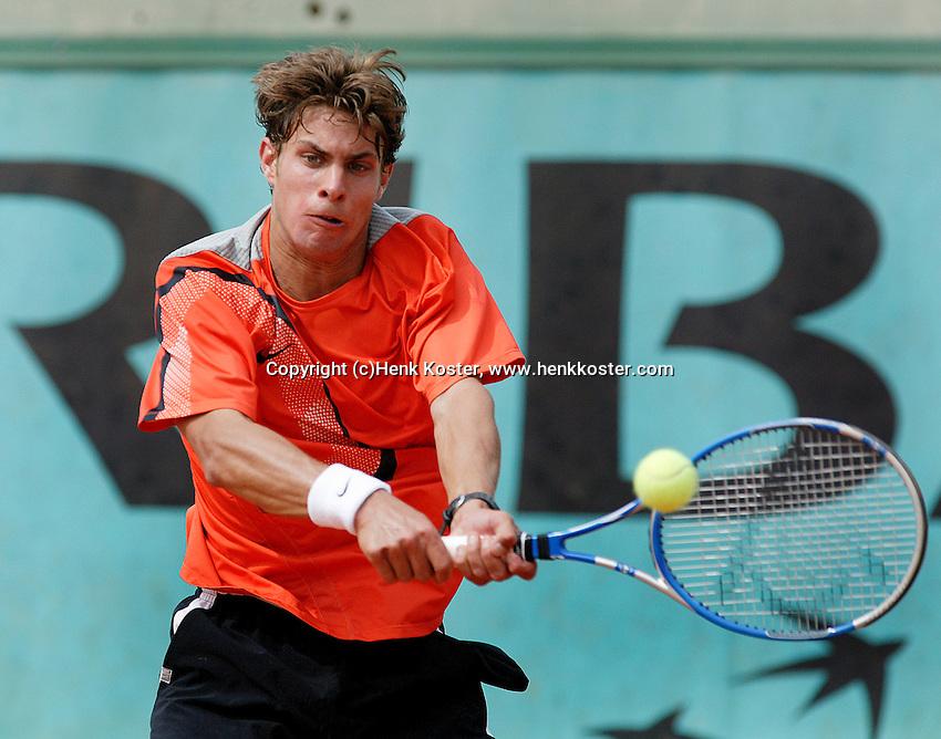 4-6-06,France, Paris, Tennis , Roland Garros, Peter Lucassen