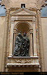 Christ and St. Thomas del Verrocchio Orsanmichele Florence