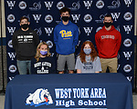 2020-2021 West York Winter Athletic Signings