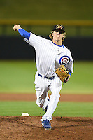 Mesa Solar Sox pitcher Zach Cates (47) during an Arizona Fall League game against the Peoria Javelinas on October 16, 2014 at Cubs Park in Mesa, Arizona.  Mesa defeated Peoria 6-2.  (Mike Janes/Four Seam Images)