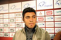 Neuzugang Caio (Eintracht) <br /> Eintracht Frankfurt Vorstellung Caio<br /> *** Local Caption *** Foto ist honorarpflichtig! zzgl. gesetzl. MwSt. Auf Anfrage in hoeherer Qualitaet/Aufloesung. Belegexemplar an: Marc Schueler, Am Ziegelfalltor 4, 64625 Bensheim, Tel. +49 (0) 6251 86 96 134, www.gameday-mediaservices.de. Email: marc.schueler@gameday-mediaservices.de, Bankverbindung: Volksbank Bergstrasse, Kto.: 151297, BLZ: 50960101