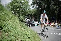TT World Champion Vasil Kiryienka (BLR/SKY)<br /> <br /> Stage 18 (ITT) - Sallanches › Megève (17km)<br /> 103rd Tour de France 2016