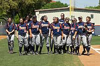 SAN ANTONIO, TX - APRIL 5, 2008: Retirement of Jessica Rogers #29 Jersey at Roadrunner Field. (Photo by Jeff Huehn)