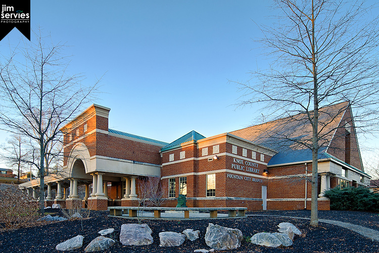 Fountain City Library 2014 by Jim Servies Photography