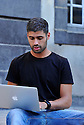 29/09/11 - CLERMONT FERRAND - PUY DE DOME - FRANCE - Shooting etudiant a l Ecole Superieure de Commerce - Photo Jerome CHABANNE