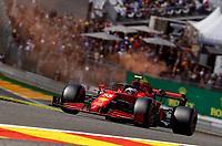 27th August 2021; Spa Francorchamps, Stavelot, Belgium: FIA F1 Grand Prix of Belgium, free practise:   55 CarlSainz ESP, Scuderia Ferrari Mission Winnow