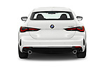Straight rear view of 2022 BMW 4-Series-Coupe 430i-Sport 2 Door Coupe Rear View  stock images