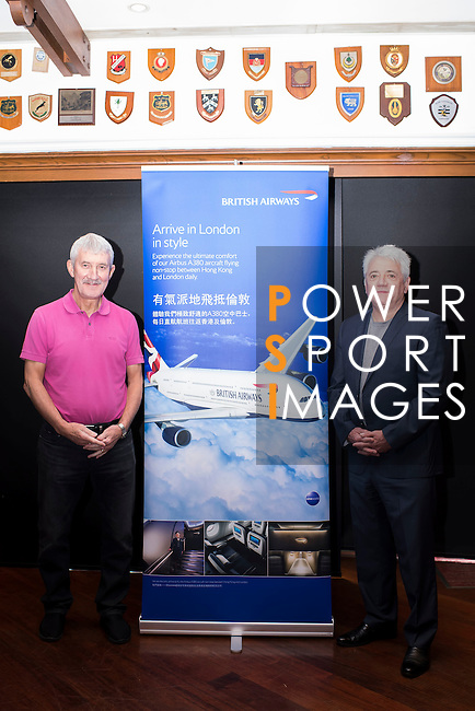 (L-R) Terry McDermott, former Liverpool football player, and Kevin Keegan, former English football player, attend the press conference for the HKFC Citi Soccer Sevens Hong Kong 2017 at the Hong Kong Football Club on 07 February 2017 in Hong Kong, China. Photo by Victor Fraile / Power Sport Images