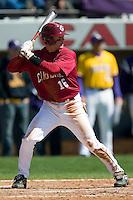 South Carolina left fielder Harley Lail (16) at bat versus LSU at Sarge Frye Stadium in Columbia, SC, Thursday, March 18, 2007.