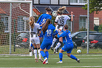 Renate-Ly Mehevets (15) of Sporting Charleroi pictured during a female soccer game between Sporting Charleroi and Eendracht Aalst on the 8th matchday in play off 2 of the 2020 - 2021 season of Belgian Scooore Womens Super League , tuesday 18 th of May 2021 in Marcinelle , Belgium . PHOTO SPORTPIX.BE | SPP | STIJN AUDOOREN